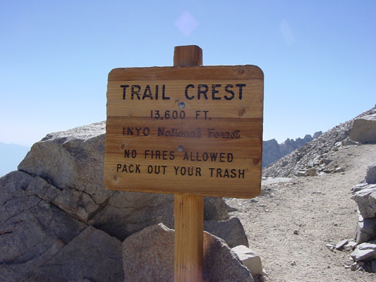 Welcome to Trail Crest.